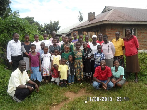 The group photos of Rongo families. They are so happy for the support they have been getting from the UTT and LT donors.