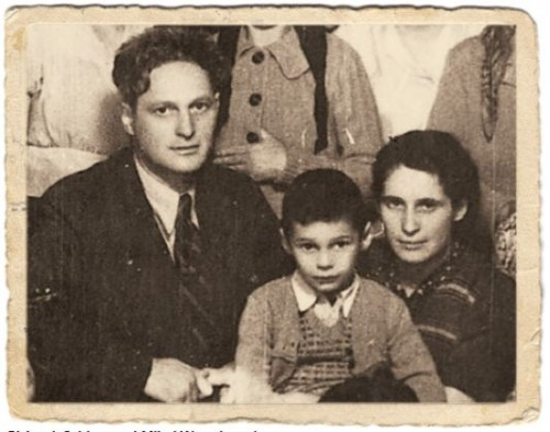 Michael (Mikai) Wurmbrand as a young boy with his parents