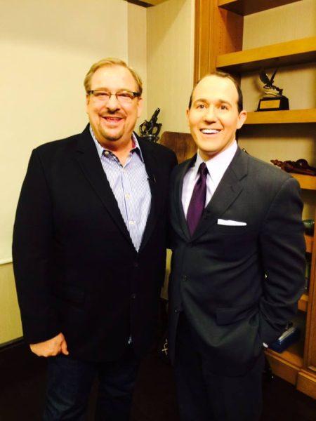 Rick Warren and Catholic TV host, Raymond Arroyo