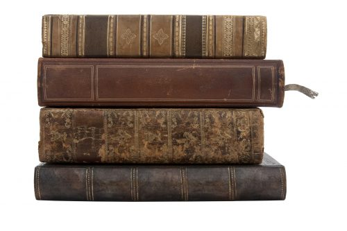 bigstock-Stack-of-old-antique-books-6922445