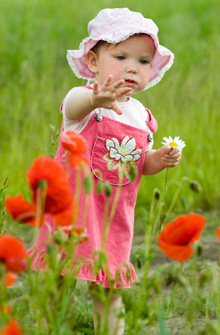 baby-girl-poppies