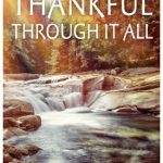 NEW BOOKLET TRACT: Being Thankful Through It All