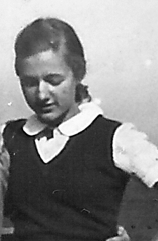 Anita (14), in Germany during WW II (spent time in a german labor camp)