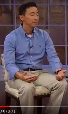 Pastor Ken Shigematsu practicing contemplative prayer